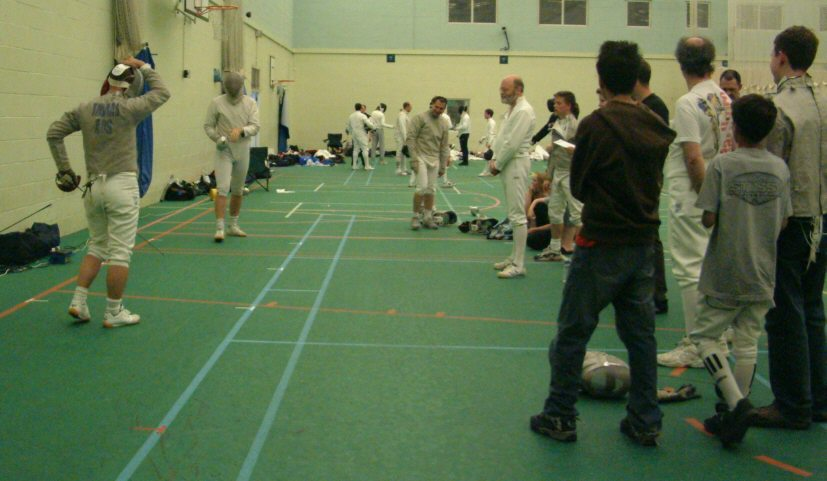 Guildford Fencing Pictures 2002 2003